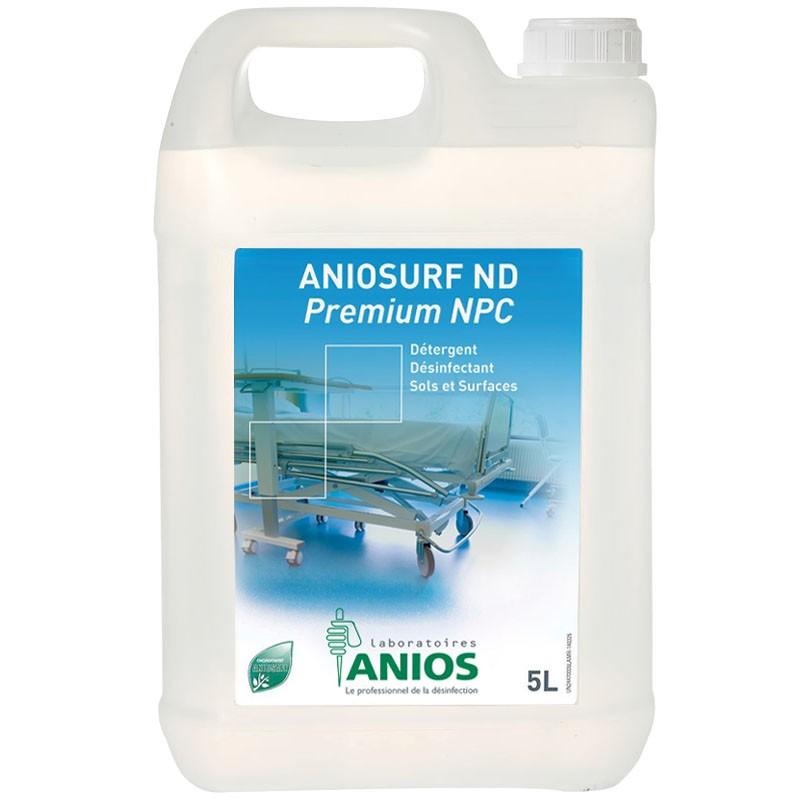 Détergent & désinfectant ANIOSURF ND PREMIUM NPC (sans parfum et sans colorant)