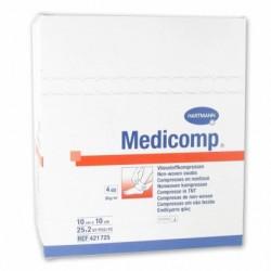 COMPRESSES MEDICOMP 10X10CM...